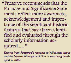 Preserve Historic Sleeping Bear Advocacy