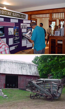 Olsen House Exhibit at Sleeping Bear Dunes Ntl Lakeshore